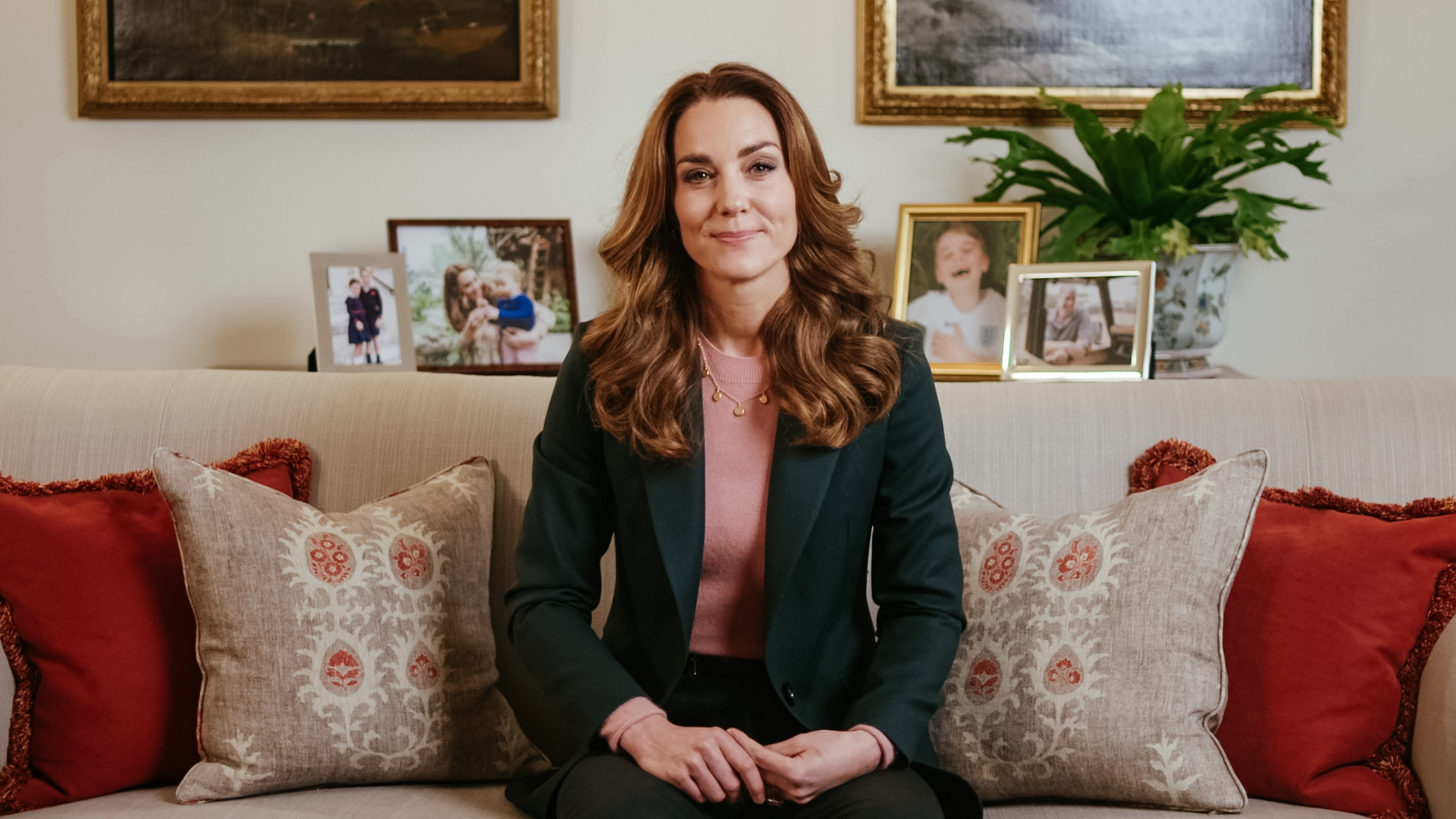 THE DUCHESS OF CAMBRIDGE UNVEILS FINDINGS OF BIGGEST EVER STUDY ON THE EARLY YEARS